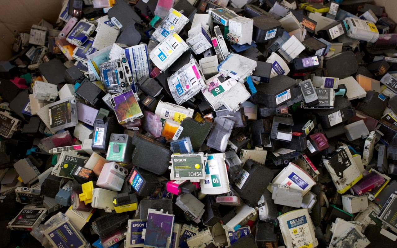Recycling Printer ink and toner cartridges